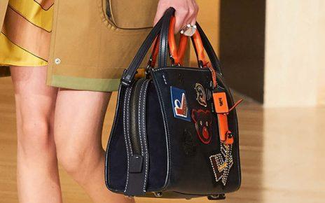 Coach Vasity Patch Rogue Bag